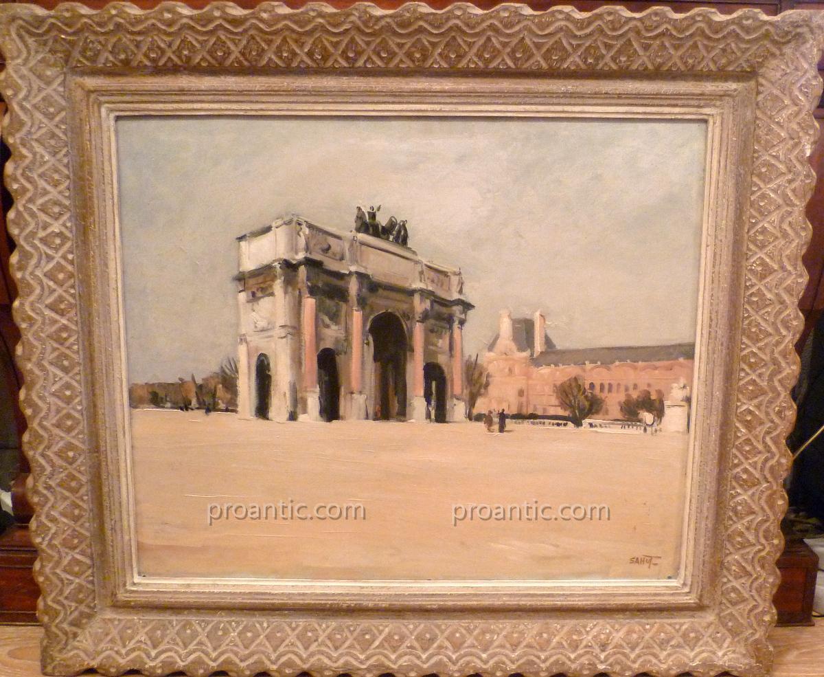 """Table """"arc De Triomphe Du Carrousel"""" Marcel Sahut"""