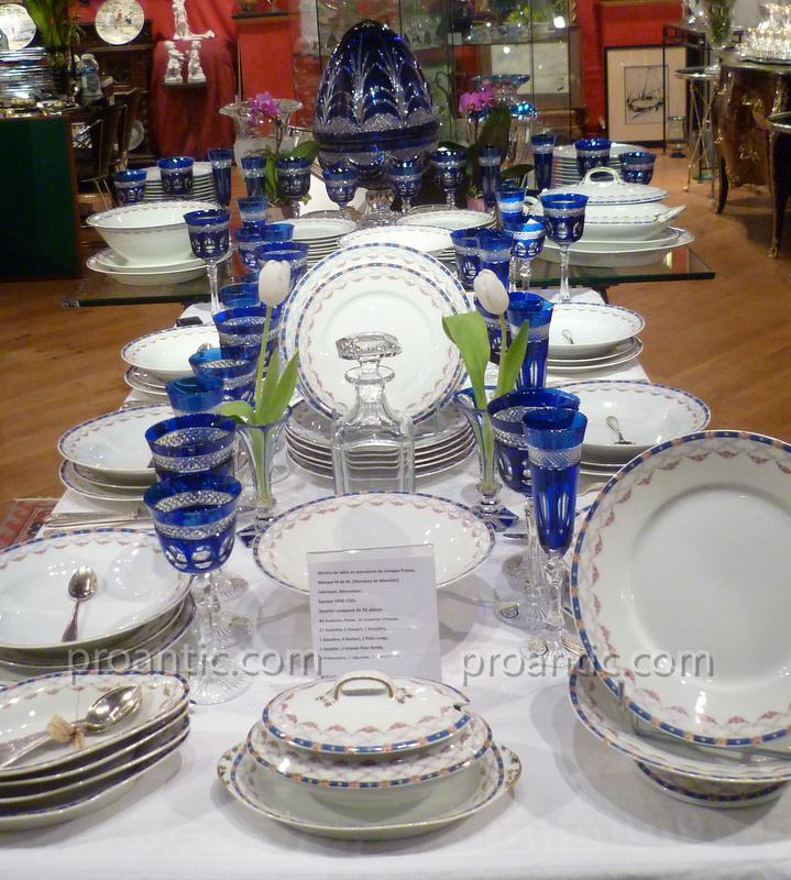 Service De Table En Porcelaine De Limoges M De M