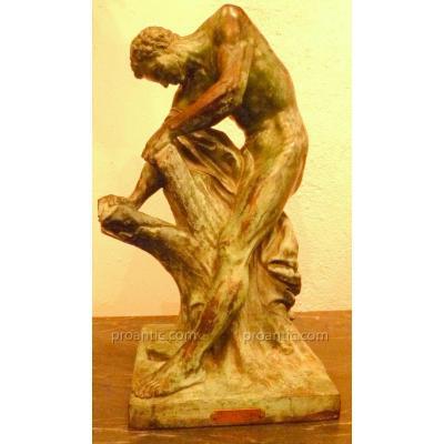 Edme Dumont Bronze XVIII