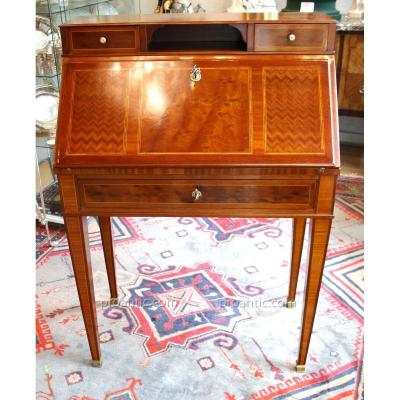 Bureau Pente De Style Louis XVI Du XIX°