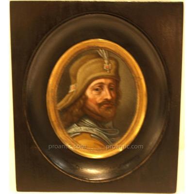 Miniature Portrait Of Man Nineteenth
