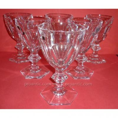 Harcourt Baccarat Crystal Water Glasses