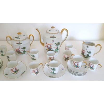 Coffee Service Porcelain Paris Nineteenth