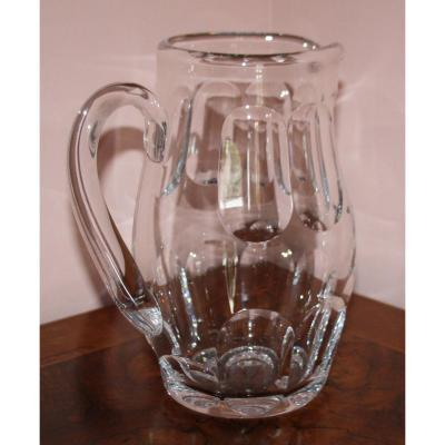 Bocarat Crystal Pitcher Harcourt Model