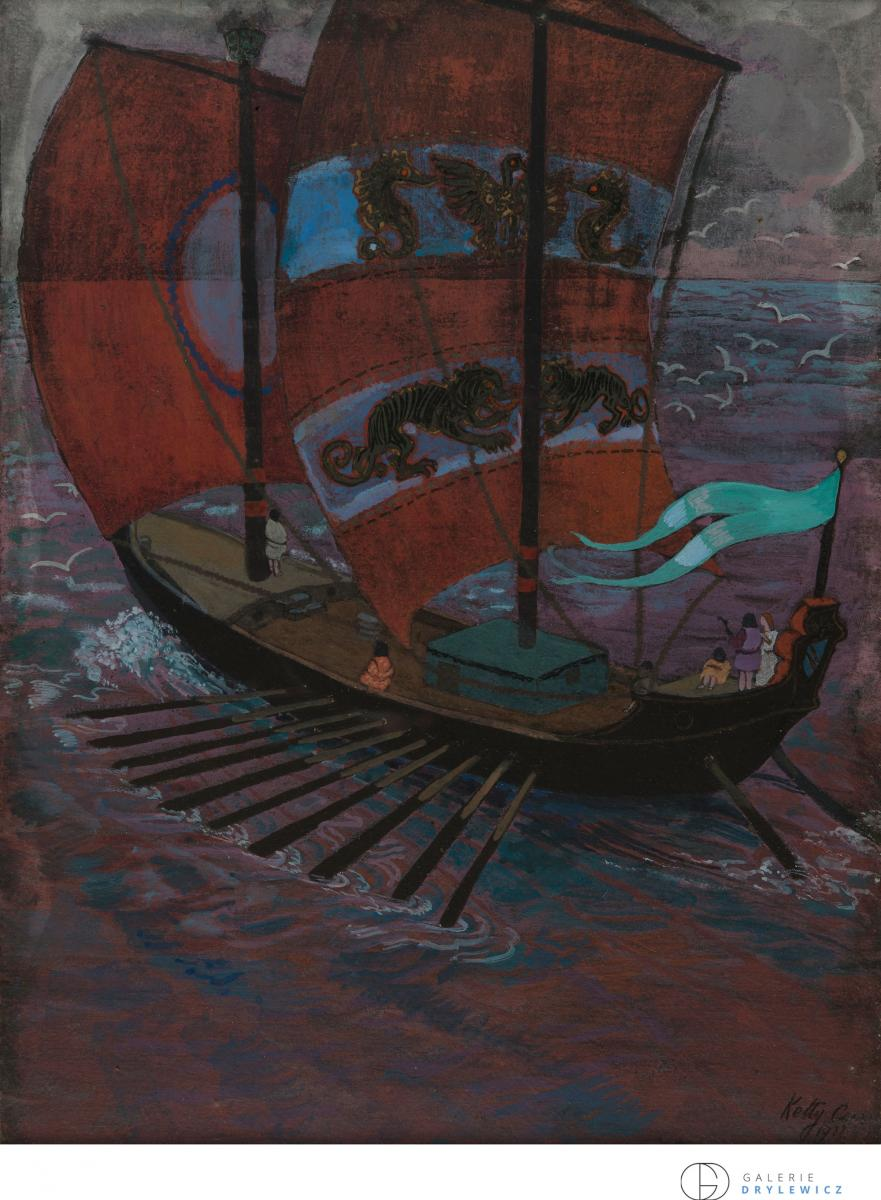 Ketty Carré, Navire 1922