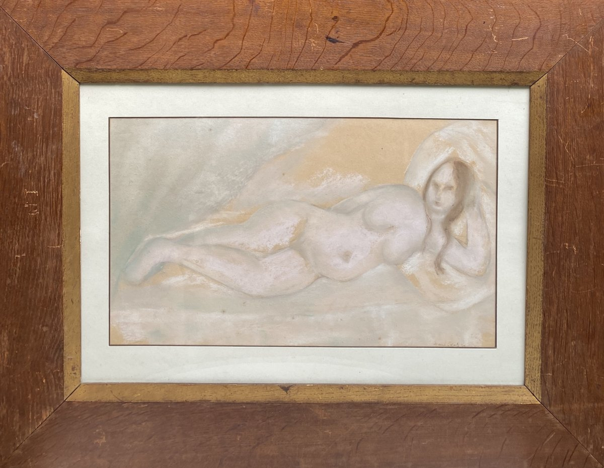 Emmanuel Mané-katz (1894-1962)- Nu, 1924