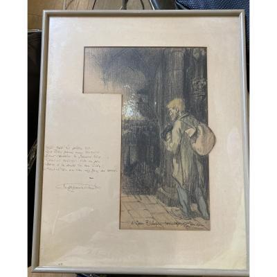 Theophile Alexandre Steinlen (1859-1923) Et Jean Richepin (1849-1926) - Chanson Des Gueux, 1910