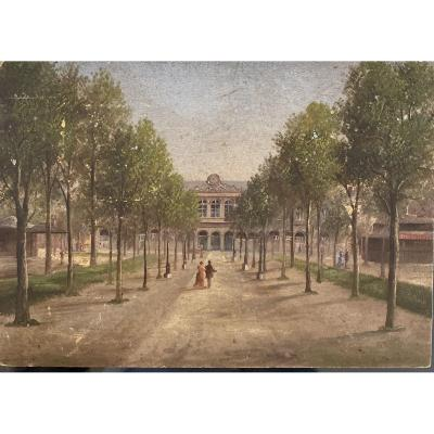 Attribué à Hubert Sattler (1817-1904) - Vichy, Etablissement Thermal