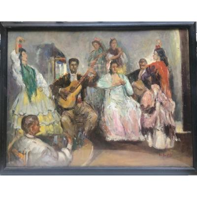 French School 1921, The Flamenco Players