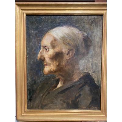 Léon Printemps (1871-1945) - La Cartomancienne, Circa 1895