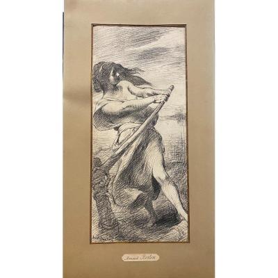 Armand Berton (1854-1917) - La Passagère