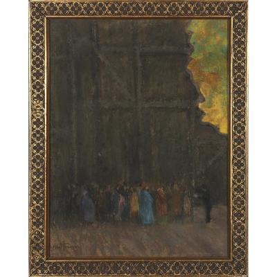 Louis Abel-Truchet (1857-1918) - Dans Les Coulisses