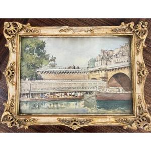 Léon Lambert - Paris,  Le Pont Neuf - 1909