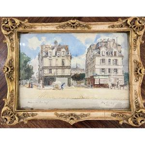 Léon Lambert - Paris, Maisons Du Pont Neuf - 1909