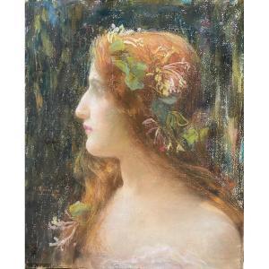 Henri Guinier (1867-1927) Ophélie, Circa 1900