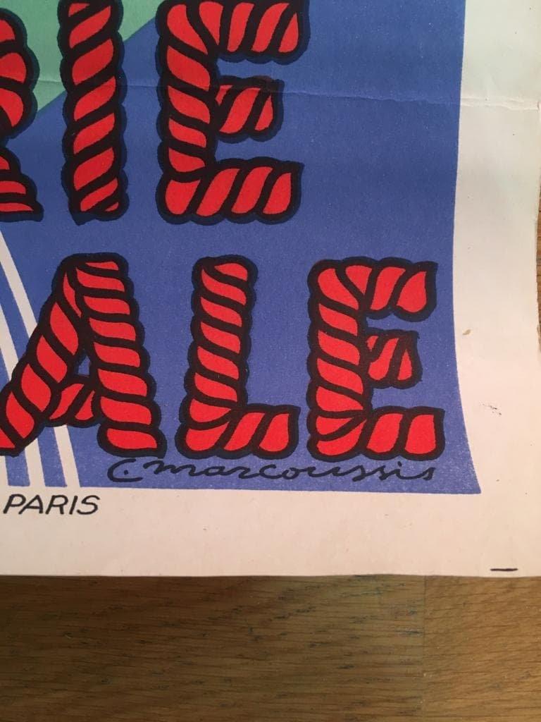 Affiche Loterie Nationale Par Louis Marcoussis-photo-2