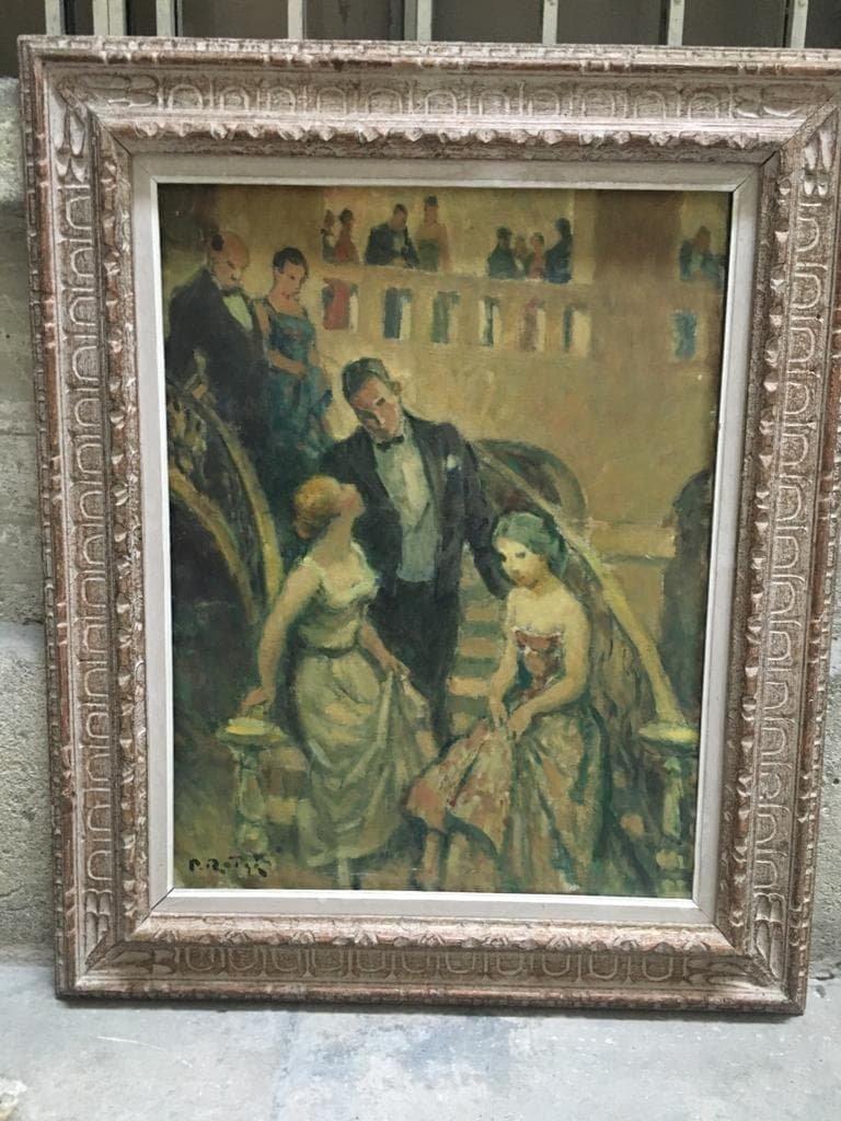 At The Opera - Rotge (1895-1969)