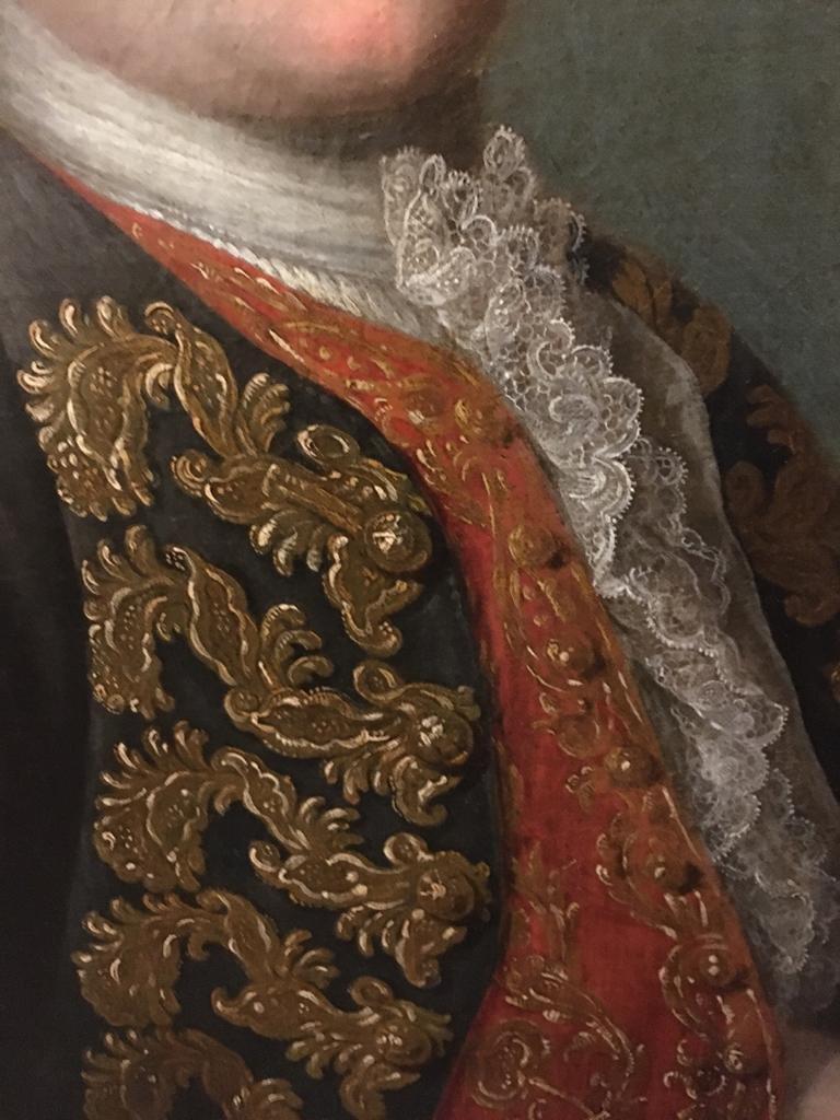Paire De Portraits d'Aristocrates -photo-5