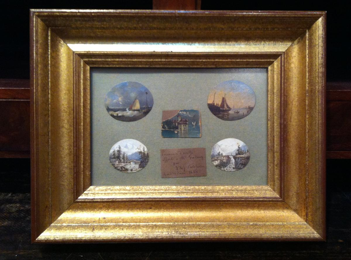 """""""marines And Miniature Landscapes"""" By Hj Jacobus Nooteboom-photo-2"""
