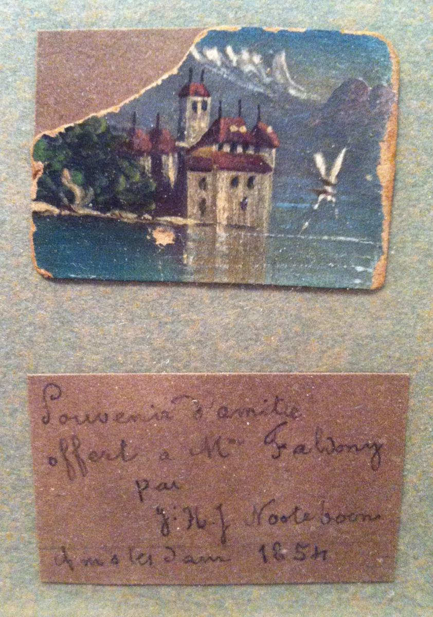 """""""marines And Miniature Landscapes"""" By Hj Jacobus Nooteboom-photo-5"""