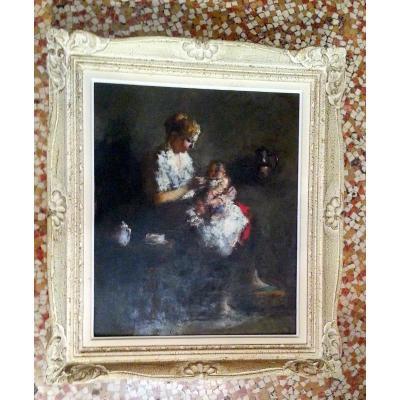 Maternité par Potamianos Haralambos 1955