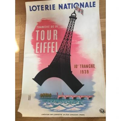 2 National Lottery Poster By Derouet Lesacq