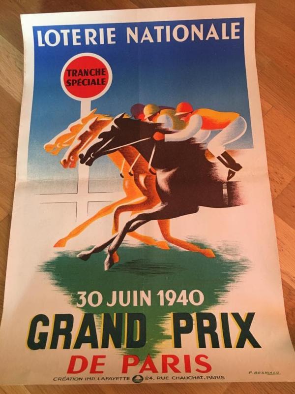 2 Affiches Loterie Nationale Par Pierre Besniard-photo-2