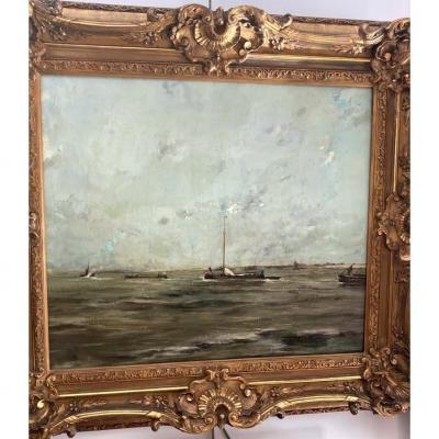"""""""Marine"""" par Apol Armand ( 1879- 1950)"""