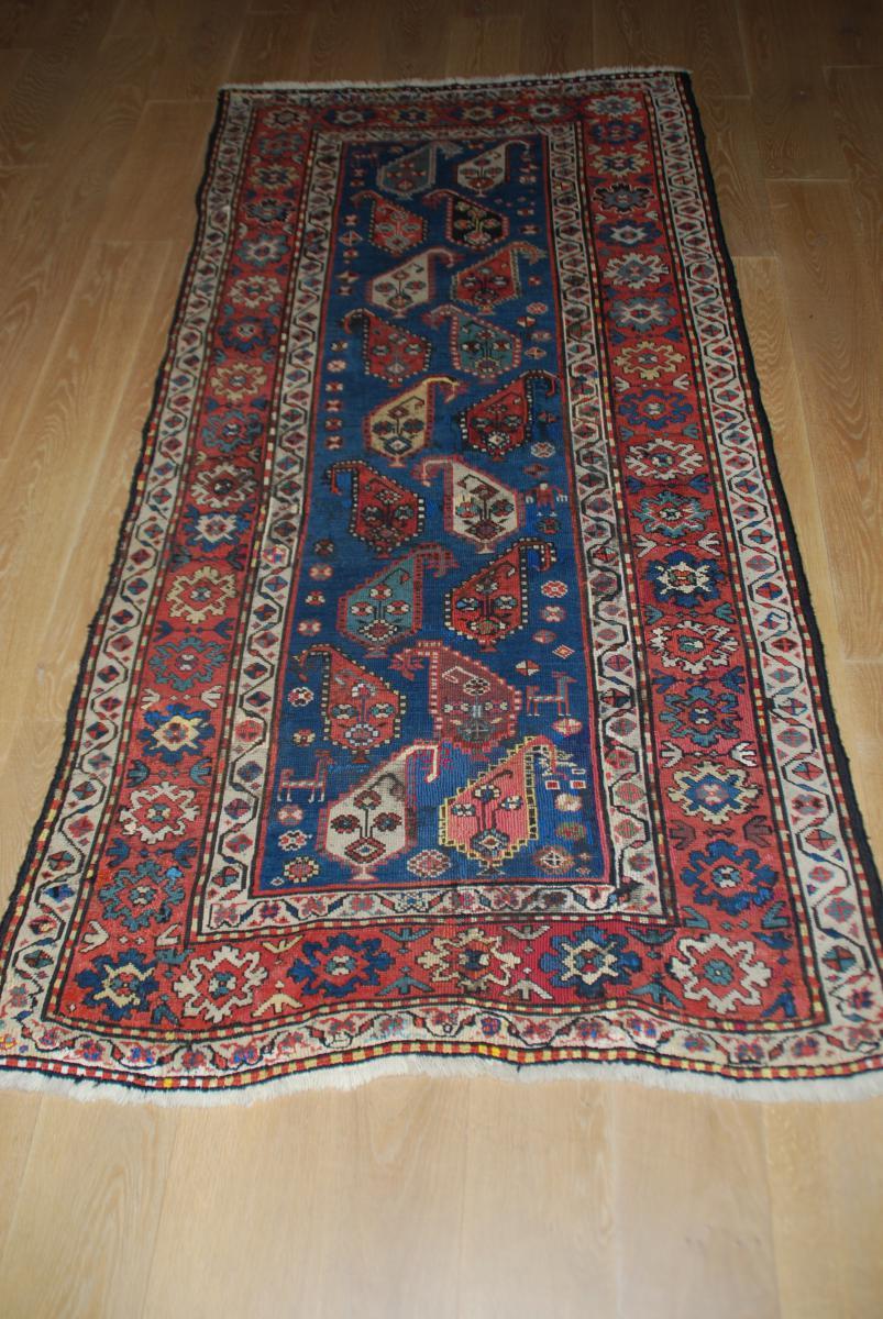 tapis ancien du caucase gendje 230cmx110cm tapis tapisseries. Black Bedroom Furniture Sets. Home Design Ideas