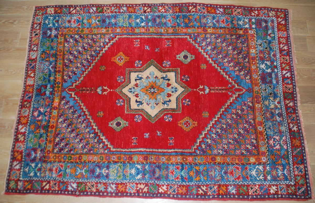 Moroccan Old Rug 252cmx182cm