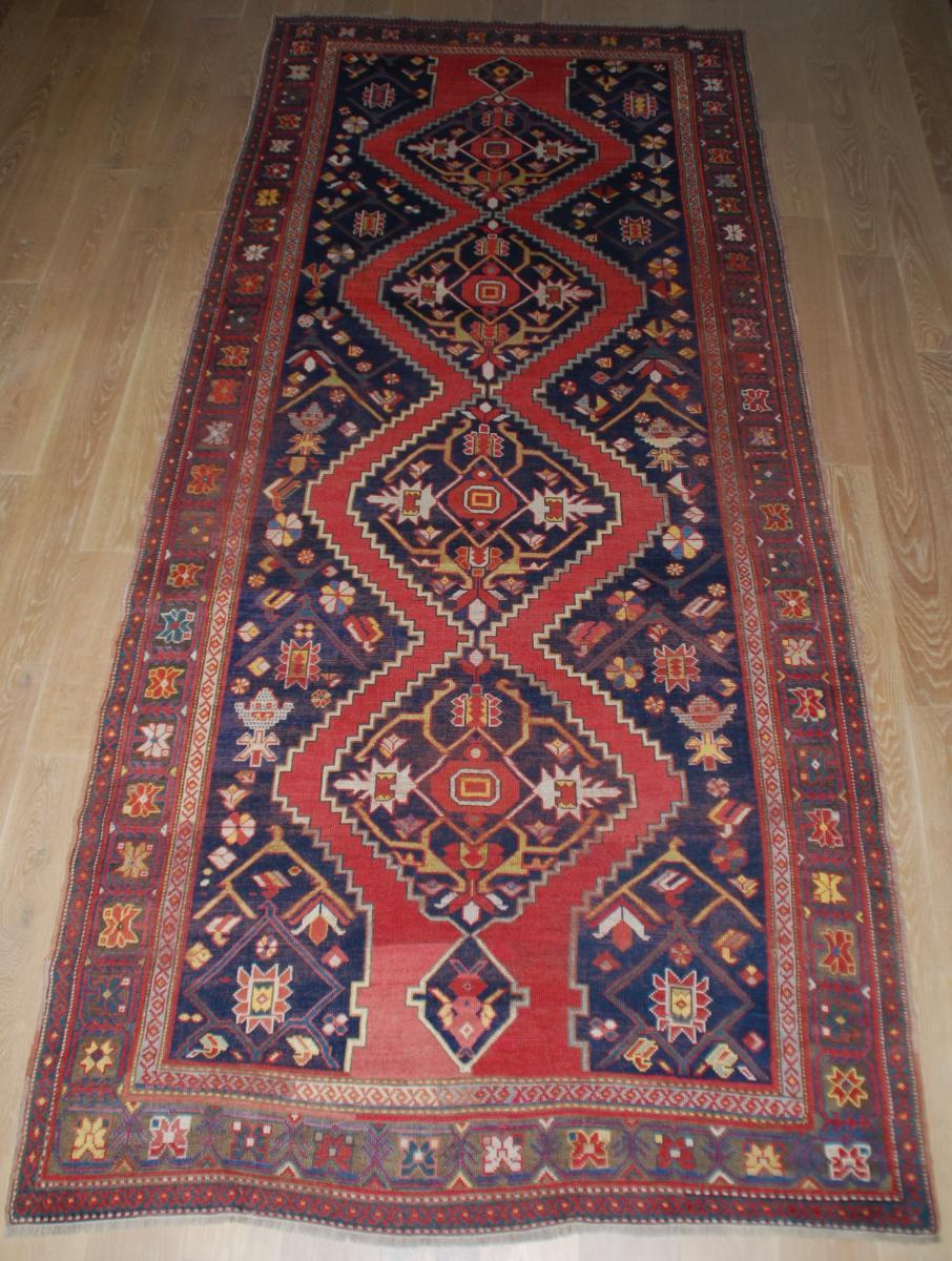 Tapis Ancien Kazak 382cmx172cm