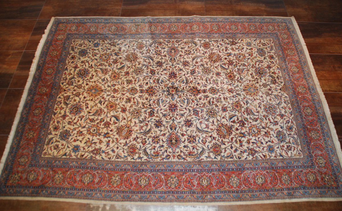 "Old Carpet ""sarouk"" 345cmx251cm"