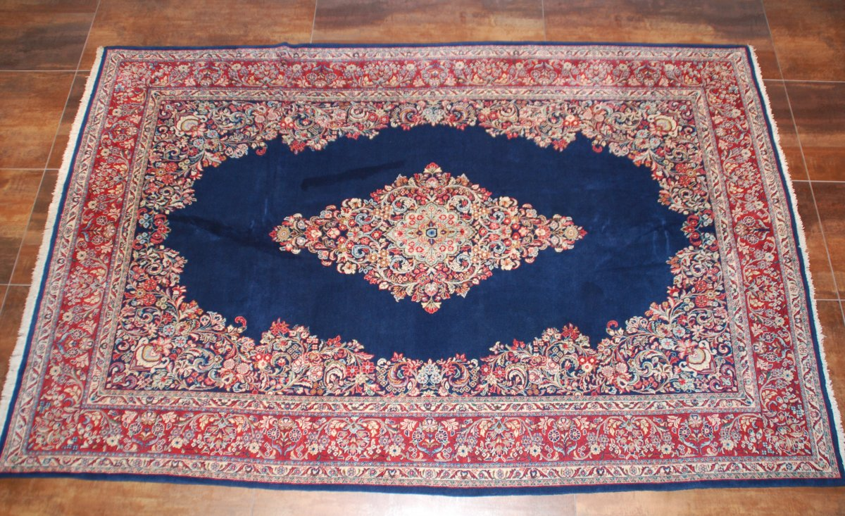 "Old Carpet ""sarouk"" 336cmx220cm"
