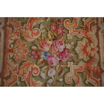 French Carpet Aubusson Nineteenth 240cmx120cm