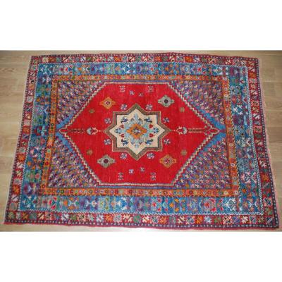 Tapis Ancien Marocain (Rabat) 252cmx182cm