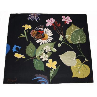 Aubusson Contemporary Tapestry 156cmx134cm