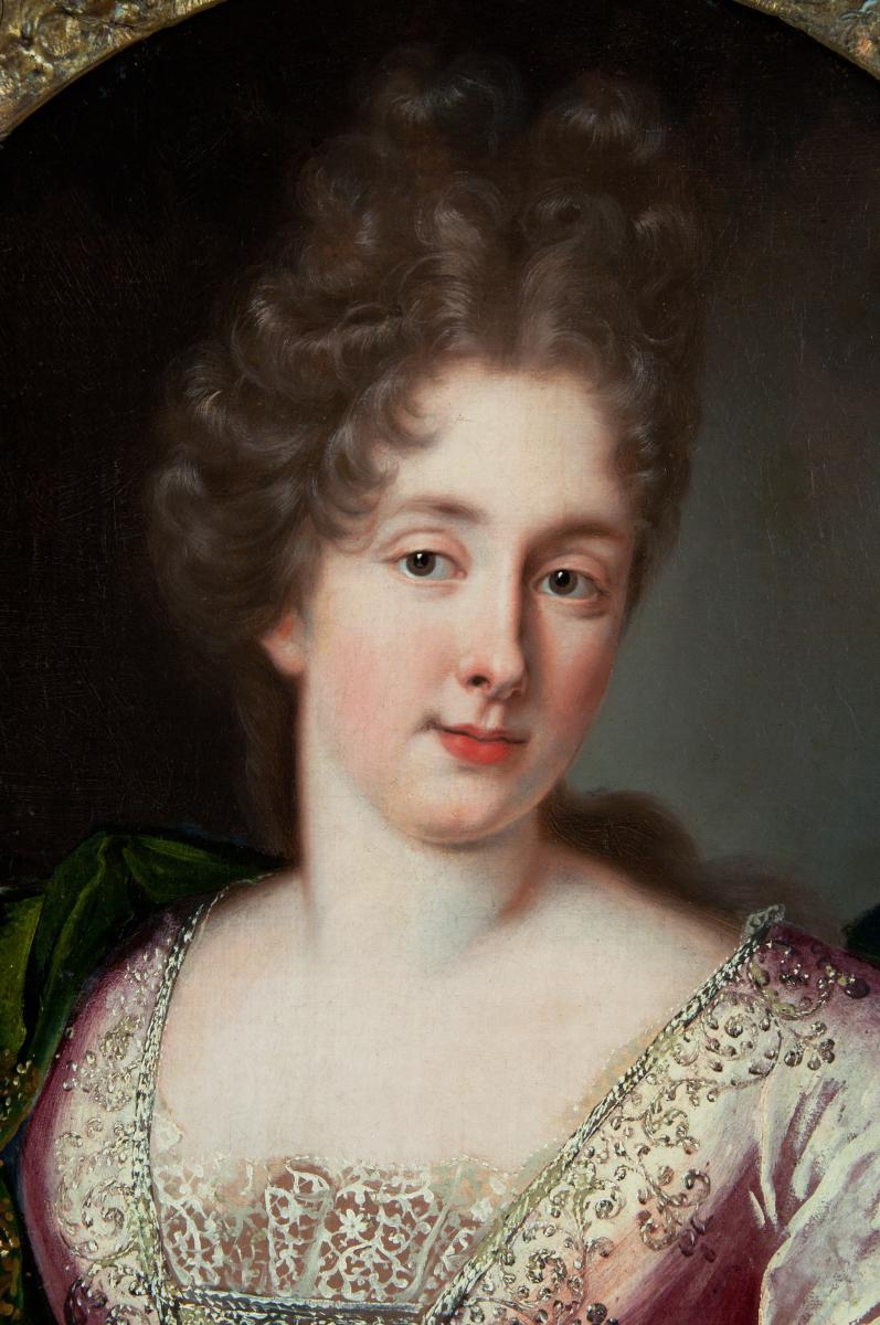 Atelier De Nicolas De Largillierre (1656-1746)  Portrait D'une Jeune Princesse, Vers 1685