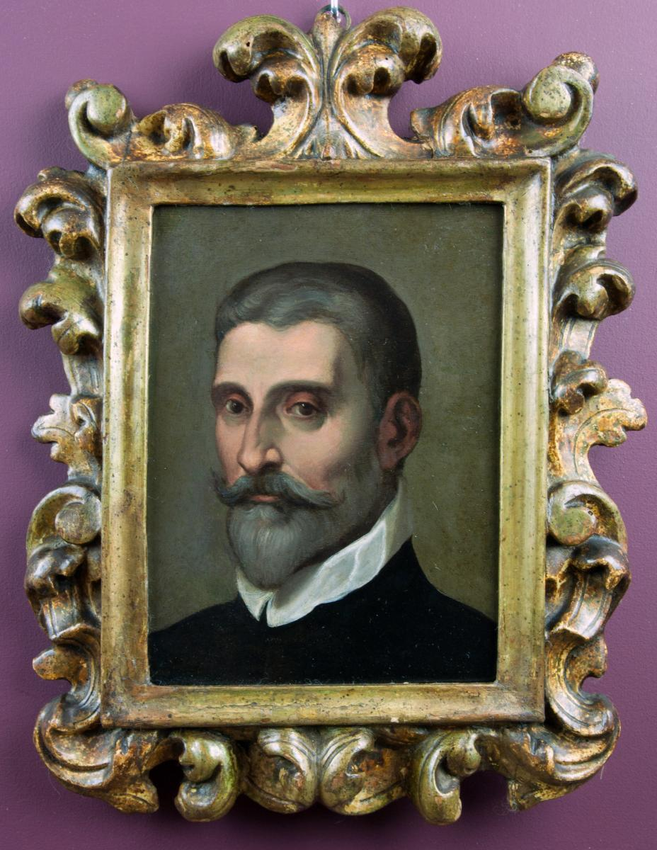 Portrait Of A Gentleman. Attributed To Daniele Crespi (1597-1630)