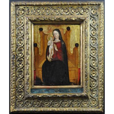 Primitive Italian Fifteenth Century With Gold Background 1480