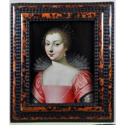 Portrait Of Charlotte Daisy De Montmorency, Towards 1610