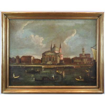 N°1/ecole Vénitienne Du XVIIIème Siècle, Atelier De Francesco Tironi (c.1745-1797)