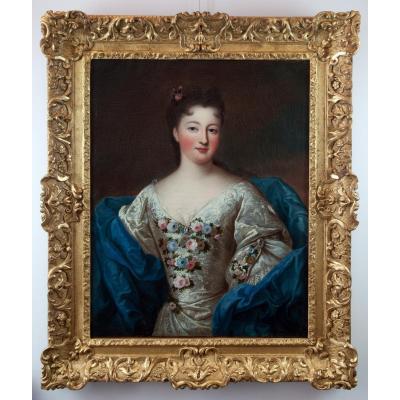 Marie Louise Adélaïde d'Orléans Par Pierre Gobert (1662-1744) Et Atelier