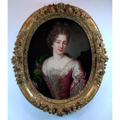 Atelier De Nicolas De Largillierre (1656-1746) Portrait Of A Young Princess, Circa 1685