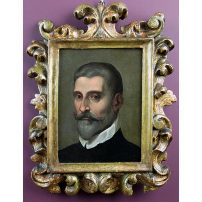 Portrait d'un Gentilhomme. Attribué à Daniele Crespi (1597-1630)