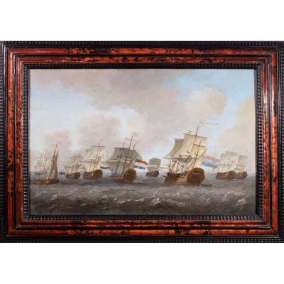 Return Of The Dutch East India Company Fleet. 17th Century Dutch School