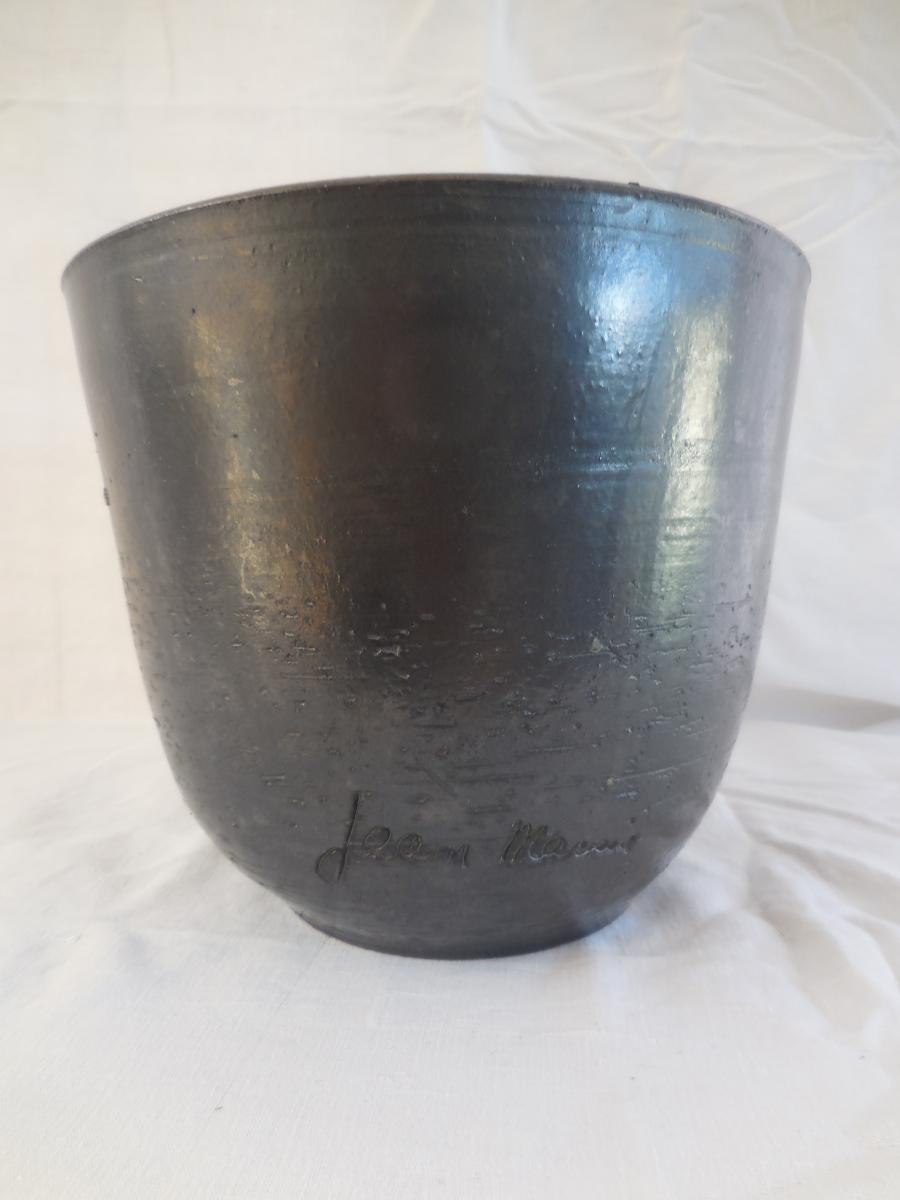Céramique émaillée Signée Jean Marais Vers 1970
