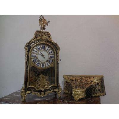 Cartel Boulle époque Régence Début XVIII Eme Signé
