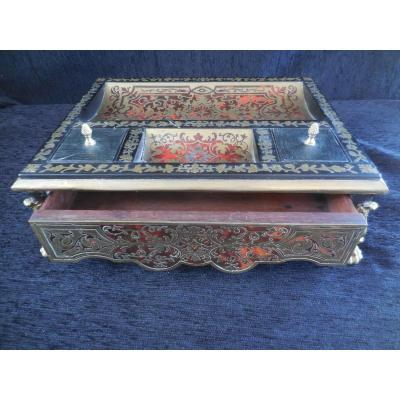 Necessary To Write Boulle Marquetry 1st Half Nineteenth