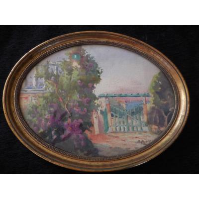 Aquarelle Signée Bernard Pratx (1897-1980)