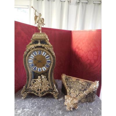Très Grand Cartel Boulle époque Régence  Ht 130cm